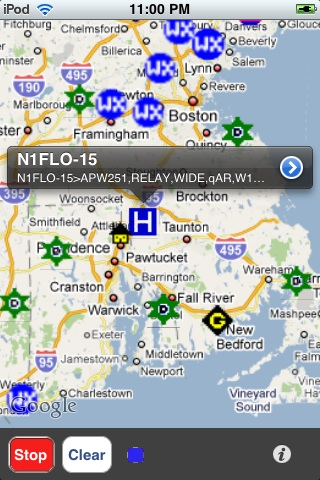 APRS iphone